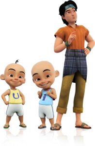Upin ipin the movie les copaque production sdn bhd it all begins when upin ipin and their friends stumble upon a mystical keris in tok dalangs storeroom that opens a portal and leads them straight into reheart Choice Image
